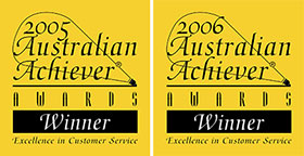 Barry Bangay Motors won the Australian Achiever Awards 2005-2006 for customer service