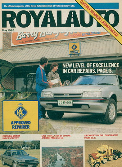 Barry Bangay Motors featured on the cover of Royal Auto Magazine